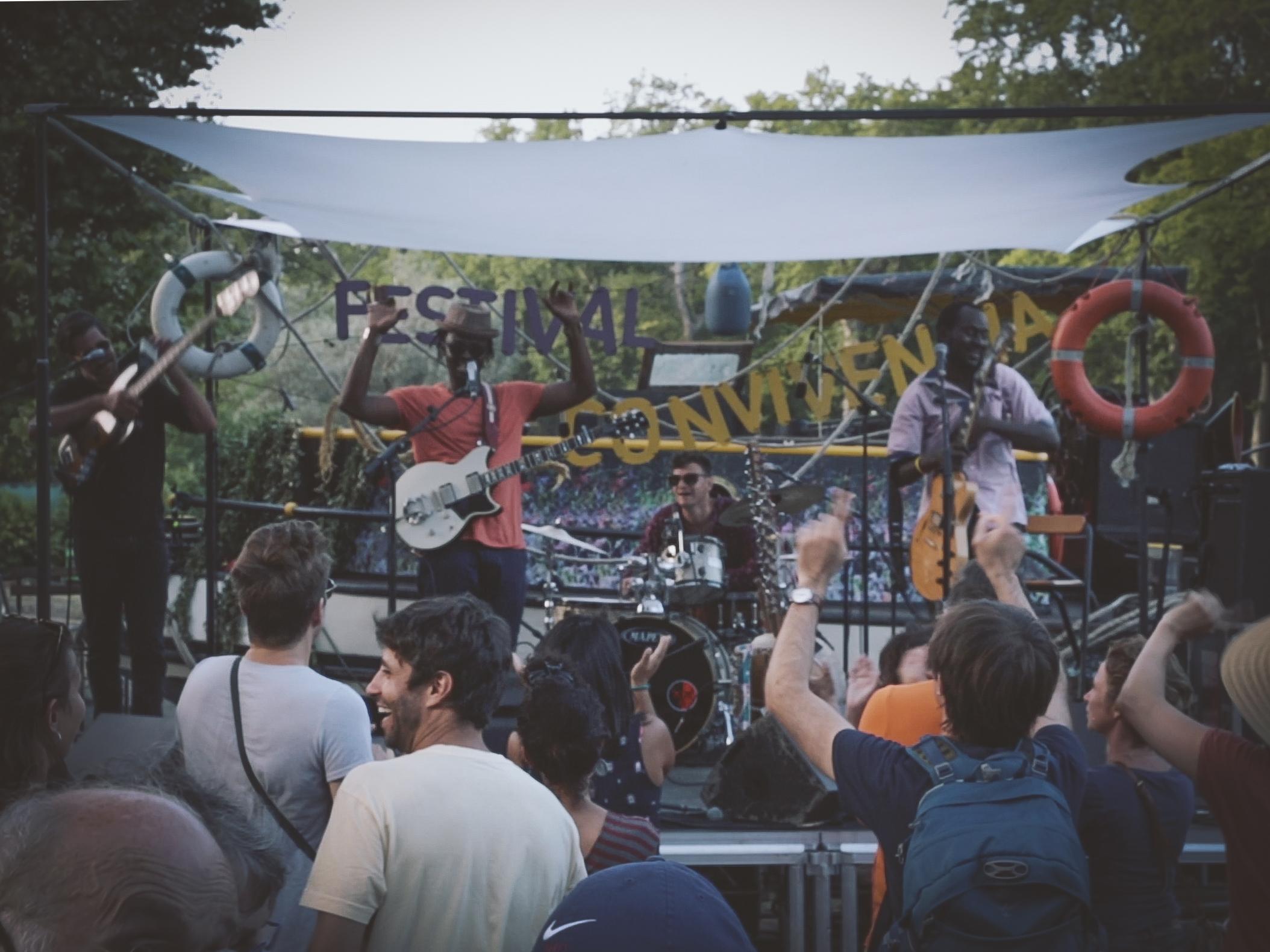 No Music No Life - Moh! Kouyaté en live pour le festival Convivencia depuis la Cale de Radoub (Toulouse)